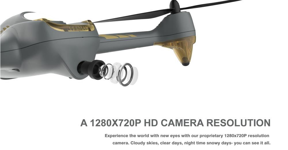 Review drona de vanzare Hubsan H501M
