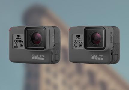 Ce sa alegem intre GoPro Hero 5 si Hero 6?