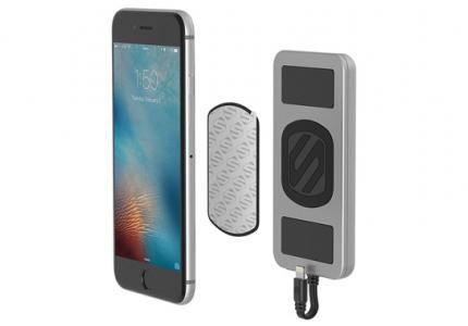 PowerBank MagicMount adauga 4000mAh bateriei iPhone-ului tau