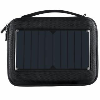 Geanta cu incarcator solar incorporat pentru camere video sport