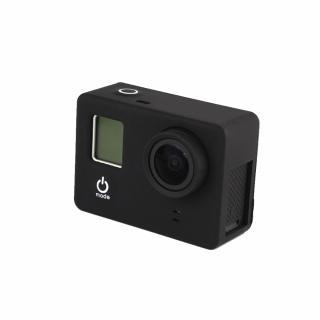 Carcasa de protectie din silicon, compatibila cu GoPro Hero 3, 3+ si 4