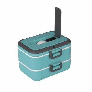 Lunch box cu doua niveluri si 1,5 l capacitate