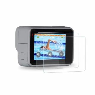 Folie protectie lentila si LCD GoPro Hero 7 Silver & White, sticla securizata
