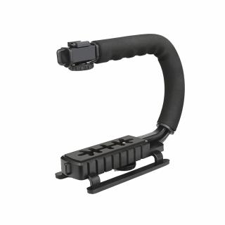 Hand grip in forma de C pentru aparate DSLR si camere video sport