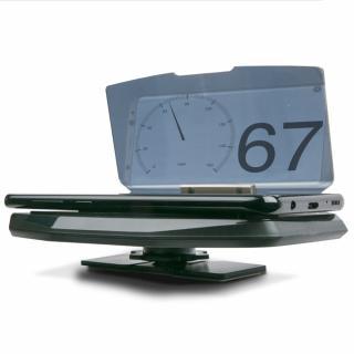Proiectie display telefon pe parbrizul masinii