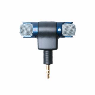 Microfon mini stereo cu mufa 3.5 mm pentru GoPro Hero 3, 3+ si 4
