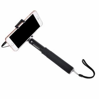 Selfie stick monopod rezistent cu fir / jack