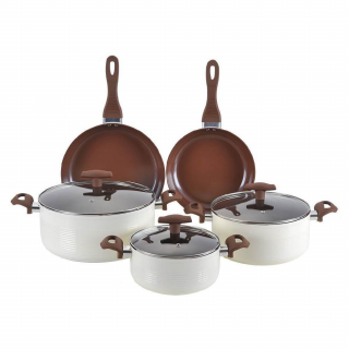 Set de oale format din 8 piese cu invelis ceramic, Royalty Line