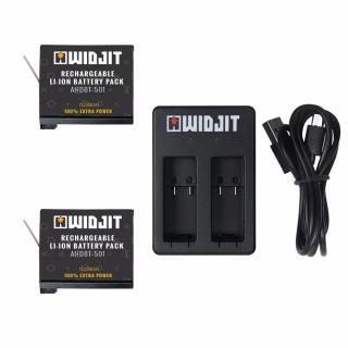Kit Widjit incarcare baterii GoPro Hero 5 / 6 / 7