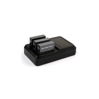 Incarcator Widjit Triplu GoPro Hero 4 + 3 baterii