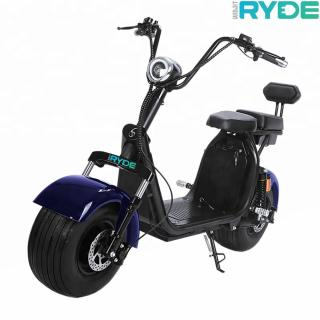 Scuter electric RYDE 2000, 2000W/60V/20Ah, viteza maxima 50 km/h, autonomie 70 km + CADOU